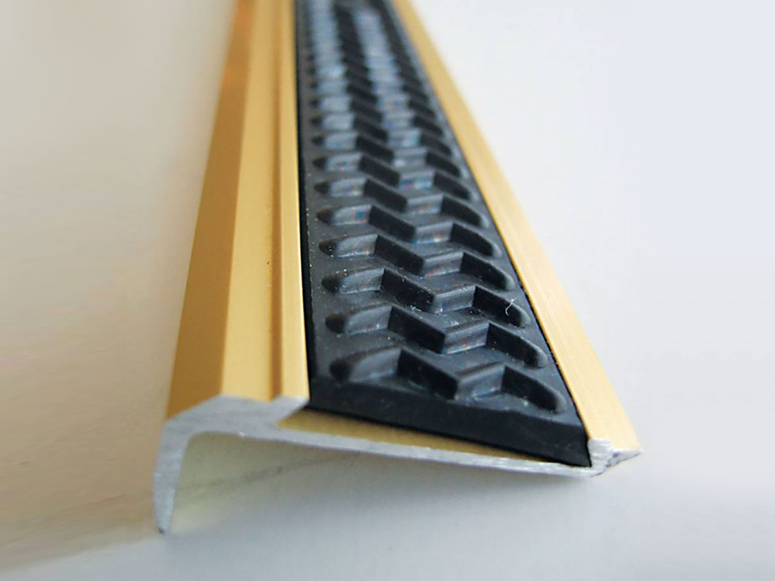 Anti-slip insert profile